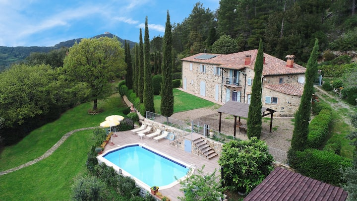 Deal 2019 Tuscany Villa le Capanne with pool