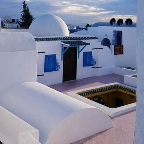 Séjour calme à  Sidi Bou Said