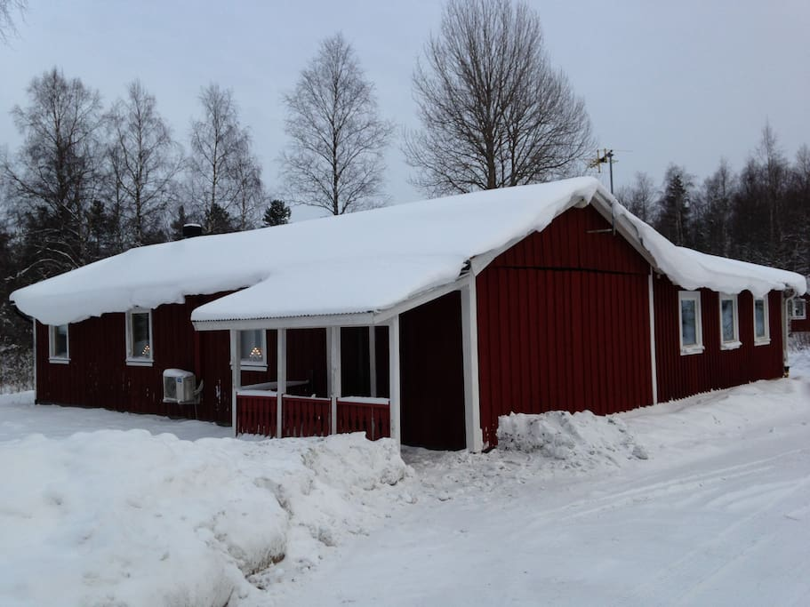 Winter pic of house