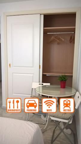 Room €25, 10 min. from Seville Cntr - San Juan de Aznalfarache - Dom