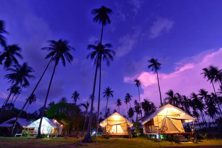 Naivacha Tent Koh Mak - Twin Bed