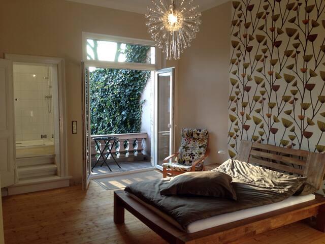 Stilvolles Appartement, Bad, Balkon - Solingen - Rumah