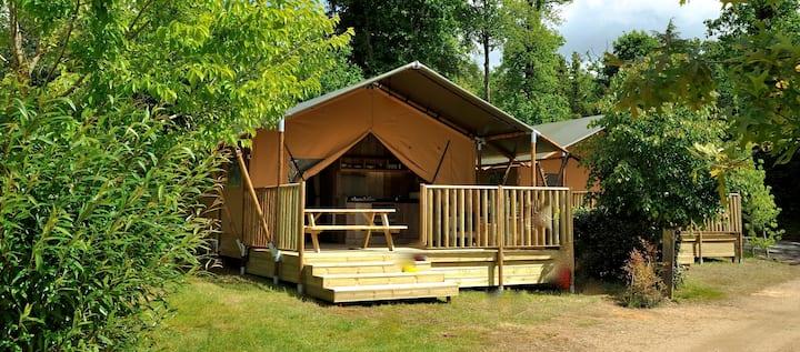 Safari Tent Holiday @ Les Ormes Resort