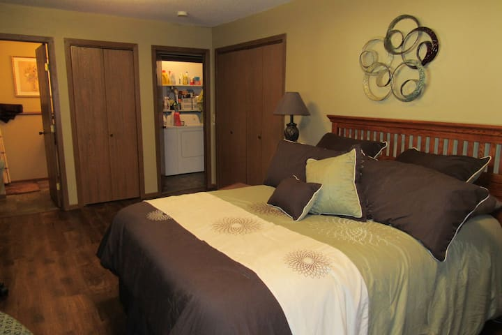 Your Private Master Suite with Bathroom