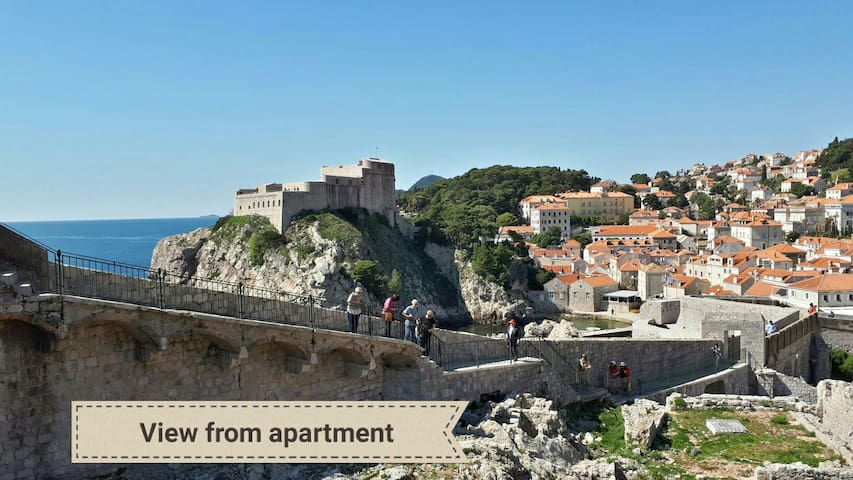 Old town apartment D.V. Prime location Dubrovnik