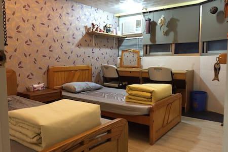天母住宅區私人房間 可住2~3人,寧靜安全,臨近天母跳蚤市場。