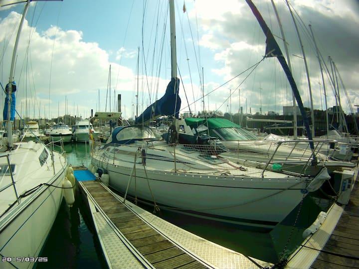 séjour à bord d'un voilier à quai