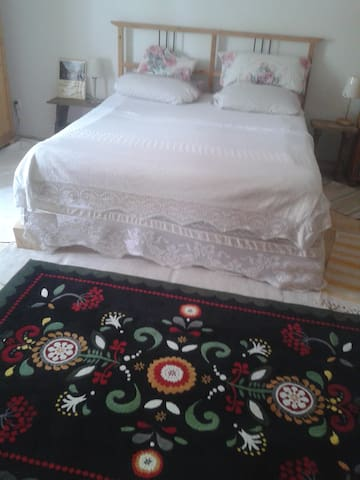 Gorgeous countryside: bedroom 2P in lovely cottage - Brüssow - Rumah