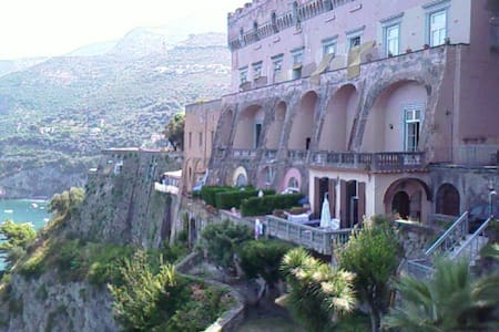 Villa in castello mare e piscina - Vico Equense