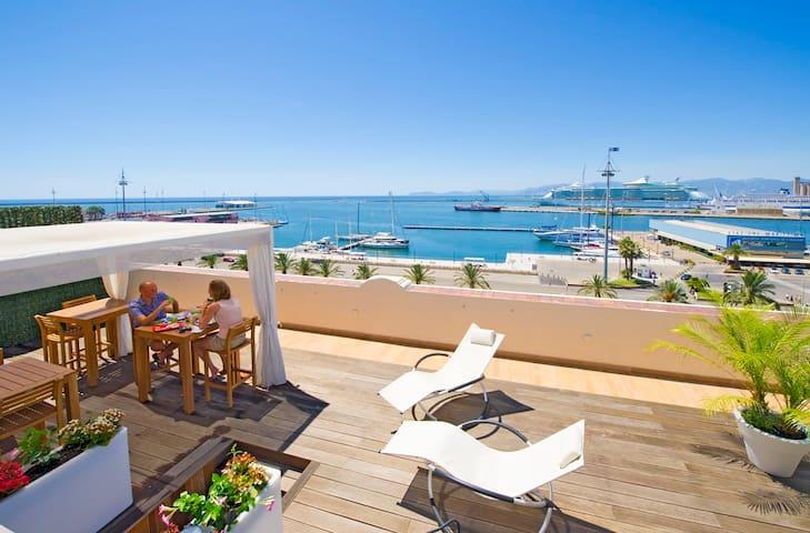 Solarium- Terrace- Roof garden …aperitif…lunch …dinner...