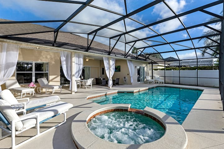 528 - Beautiful home with private pool and spa near to Champions Gate and Disney - 528