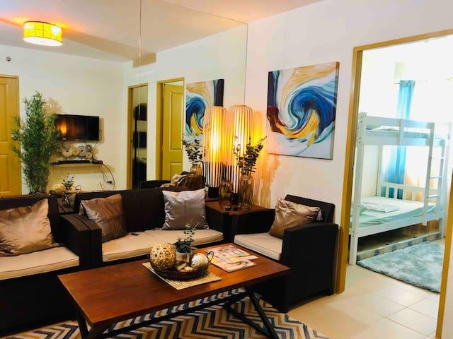 Elyn's new 2 bedroom condo Dumaguete City center