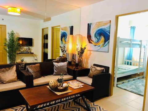 Elyn's new 2 bedroom condo Dumaguete City center