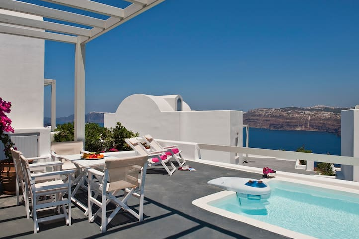Apartment with pool & caldera view3 - Santorini - Apartment