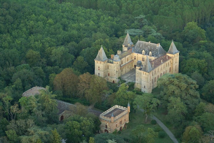 House in the park of the castle ! - Cazaux-Savès - Rumah