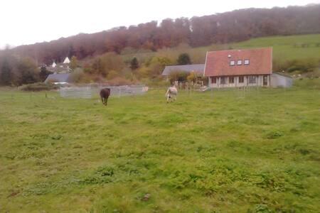La Maisons des S'cygnes - Muchedent - บ้านดิน