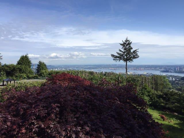 Amazing ocean view in Vancouver - 西溫哥華 - 獨棟