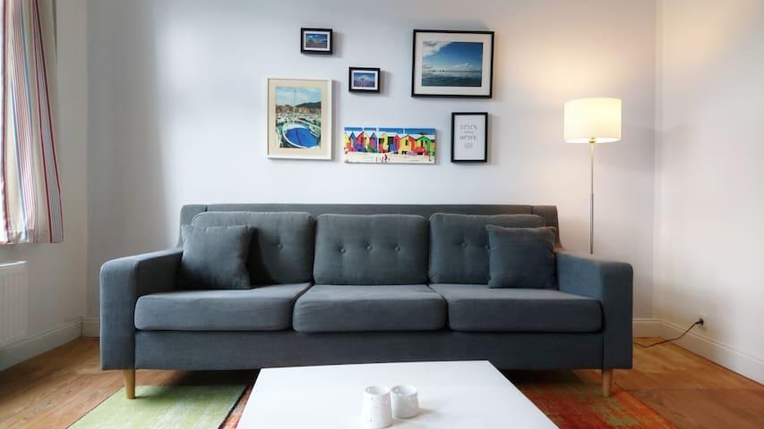 Charming apartment in art nouveau villa