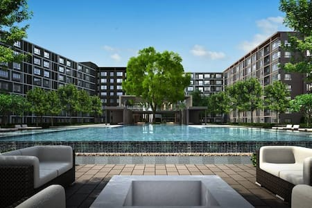 VIP CITY-RESORT WITH FANTASTIC POOL & COZY ROOMS!! - 清邁 - 公寓