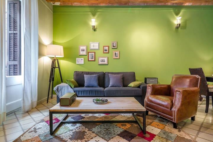 Green Market Barcelona Apart (3BR) - Barcelone - Appartement