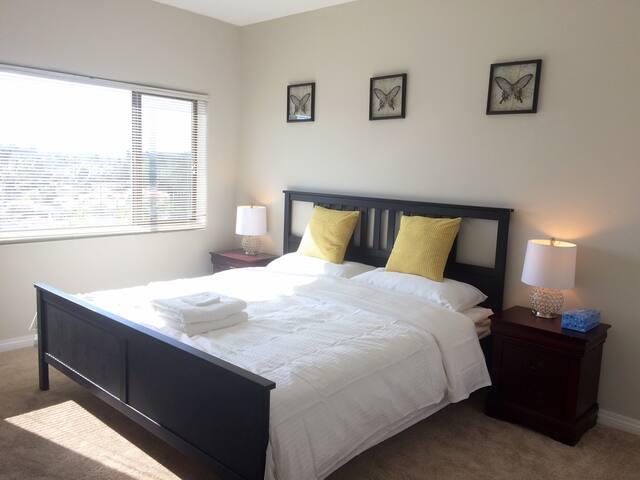 MP蒙市#655高級公寓2房2卫整体出租,樓下中英文电影院健身房美食 - Monterey Park  - Flat