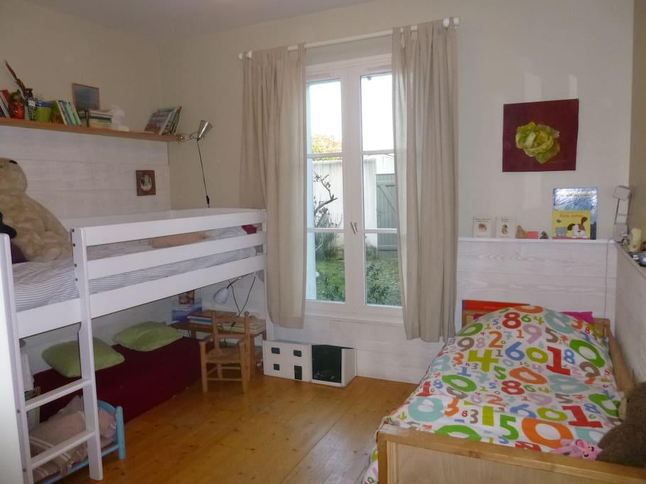 chambre enfants dans laquelle on peut laisser des jouets