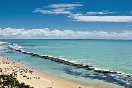 Suíte mob- Boa Viagem c/ piscina na praia - Recife