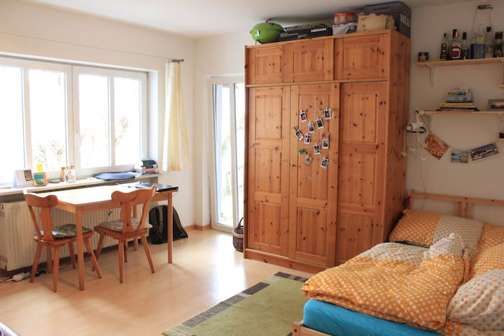 Compact flat with a terrace - Deggendorf - Apartmen