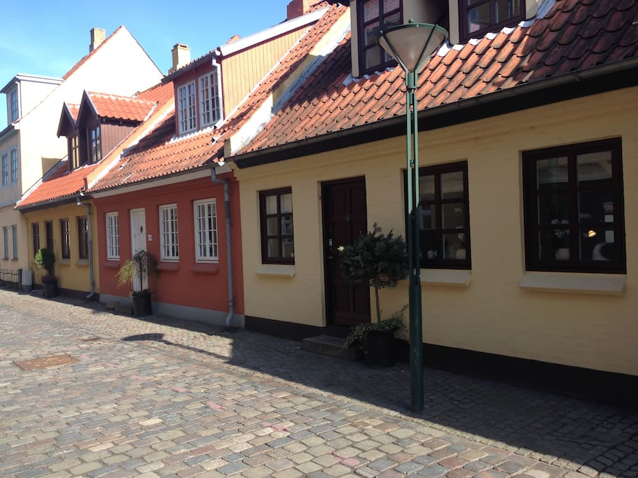 Lailas House in Overstræde at the historical center in Odense