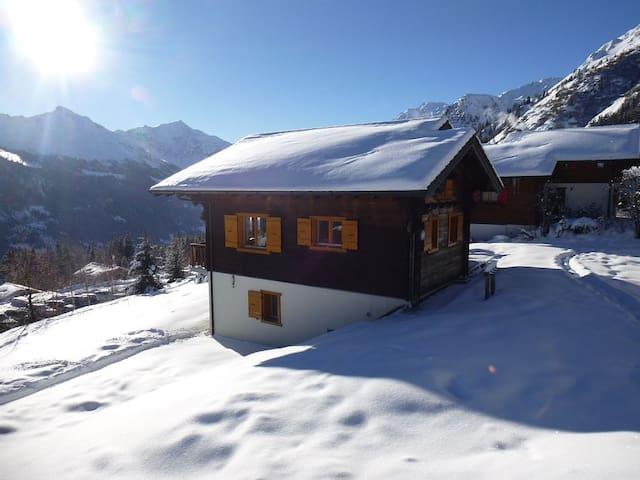 Chalet at 1.900m in Verbier Ski resort - Vex - House