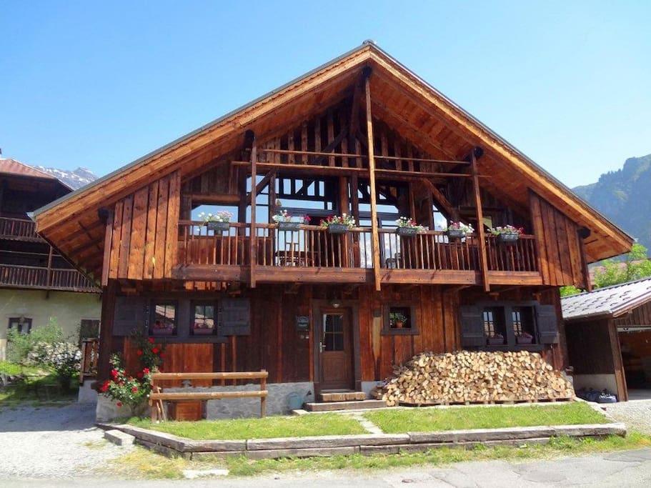 superbe chalet proche de chamonix houses for rent in servoz rh 244 ne alpes