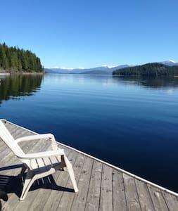Classic Priest Lake Cabin - Priest Lake - Casa