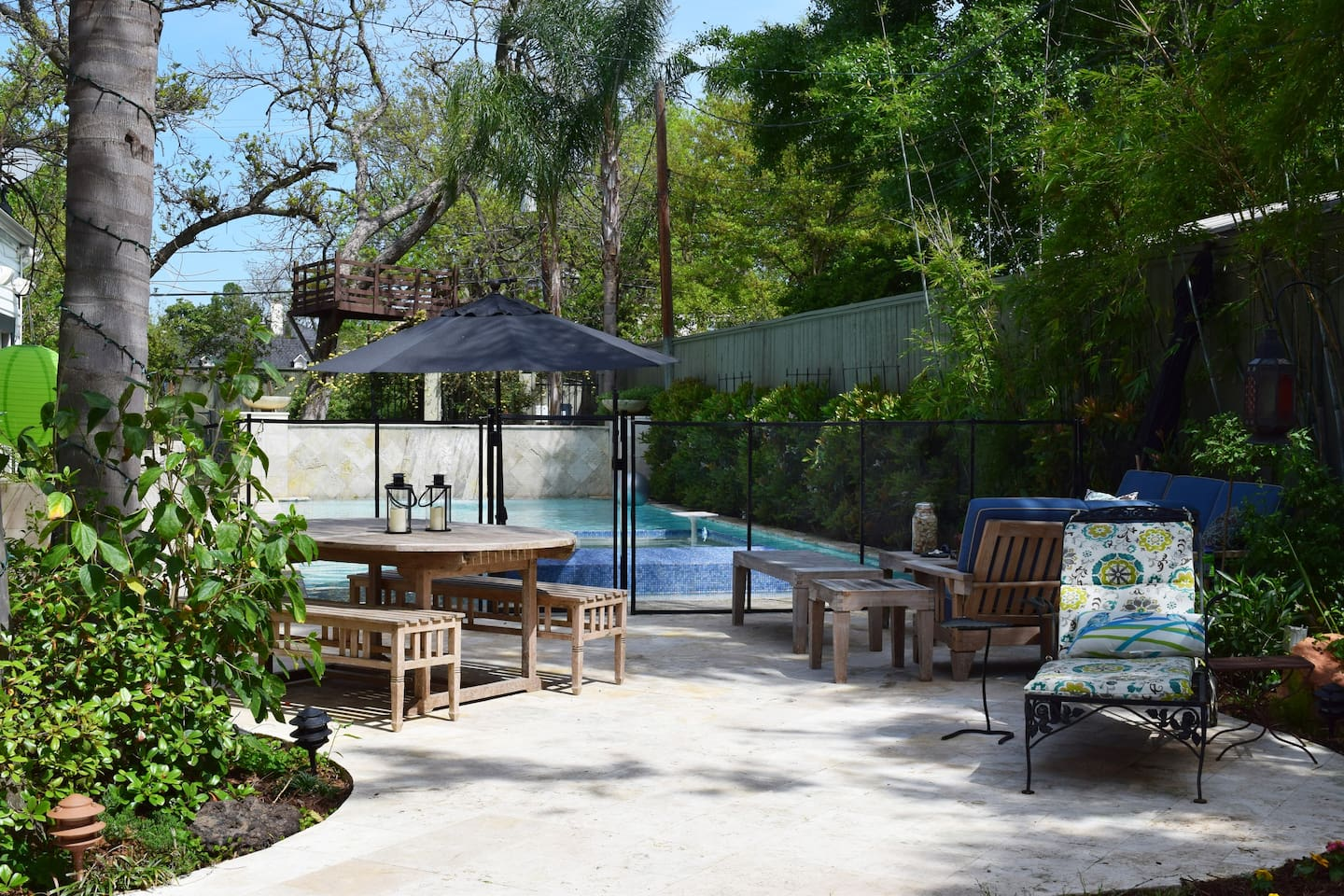 Relax by the saltwater pool or take a cool dip. Hot tub & pool not heated.
