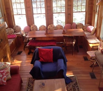 Streamside Cabin in Catskills - Chichester - 小木屋