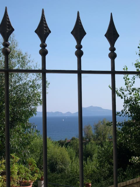 POSILLIPO IN VILLA WITH VIEW GARDEN