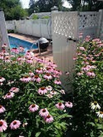 B&B W. Inground Pool & BBQ Access! - Newburgh - Bed & Breakfast