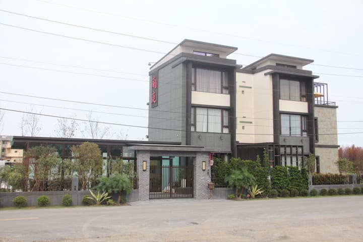 蘭庭 庭園度假屋 - Yuanshan Township - Bed & Breakfast