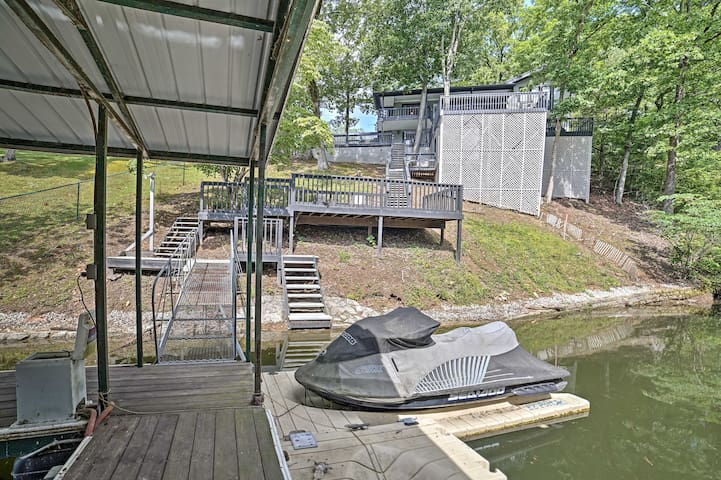 NEW! 4BR Pickwick House w/ Private Dock!