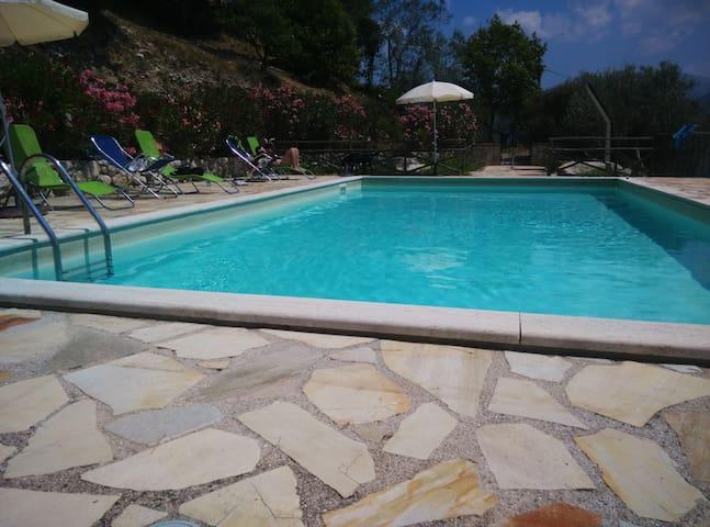 studio with pool