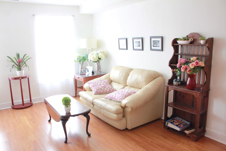 Elegant Entire Apartment w/ Parking - Airport 2Br