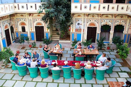 Room in Heritage Haveli in Mandawa Rajasthan