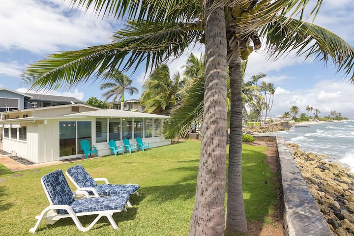 3 bed/2 bath Oceanfront Bungalow - Ewa Beach - Dom