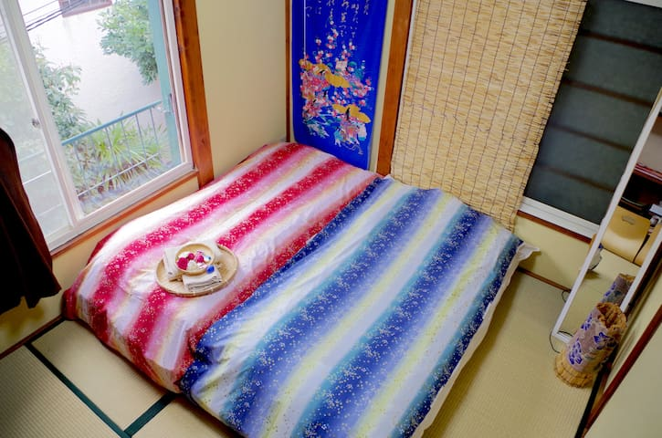 Cozy tatami room with friendly couple - Shinjuku-ku - Rumah