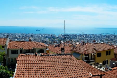 ✅ Thessaloniki Panorama Center View (Free Parking)