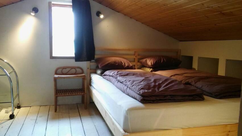 Extremely Central, cosy double atic room. - Reykjavík - Apartment