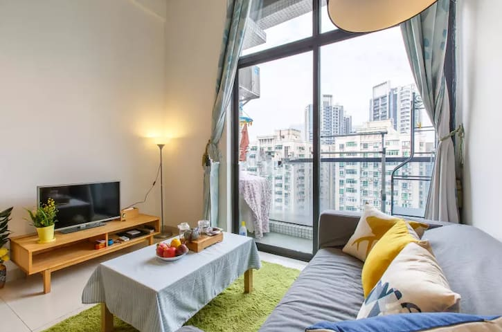 #Promotion!# Loft Apartment in ZHUJIANG NEW TOWN - กวางโจว
