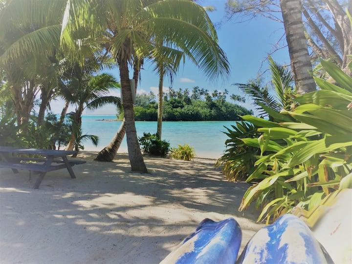 Koka Villa Muri - Pool, Kayaks, Beach Setting