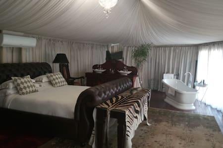 Buffalo Legends: an uber luxurious bush tent camp