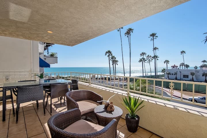 Ocean View Condo Steps to Beach Access