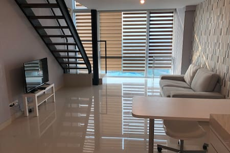 A newly built apartment next to Supermall
